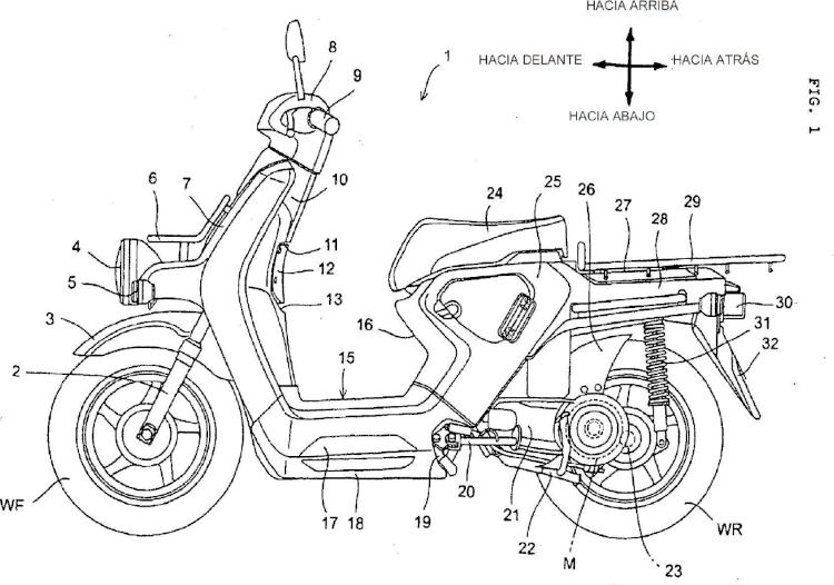 Motocicleta eléctrica.