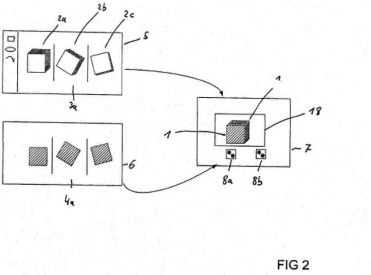Ilustración 2 de la Galería de ilustraciones de Procedimiento para la representación de un objeto animado