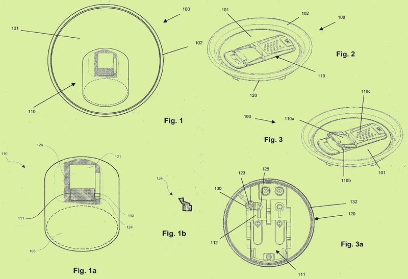 Tapa de envase con dispositivo compensador de presión.