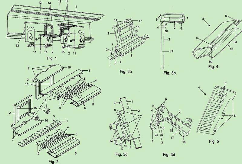 Disposición para la conexión de un medio de tracción con un elemento de arrastre.