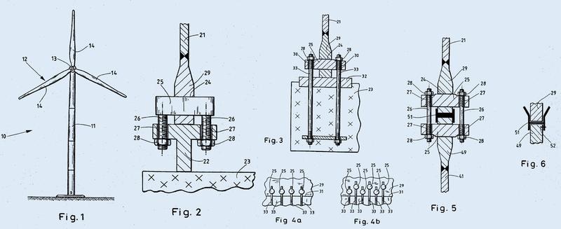 Torre de aerogeneradores.