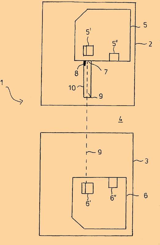 Procedimiento y dispositivo para detectar piezas dobles.