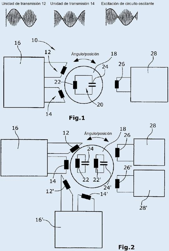 Sensor de posición inductivo.