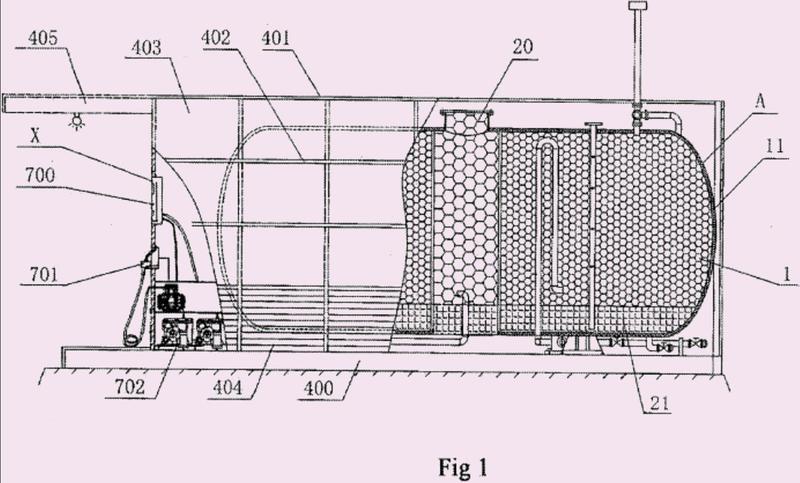 Dispositivo de llenado de petróleo (gasolina) anti-explosivo y de protección al entorno.