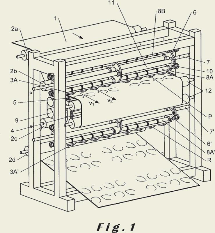 Dispositivo de perforación de un film.