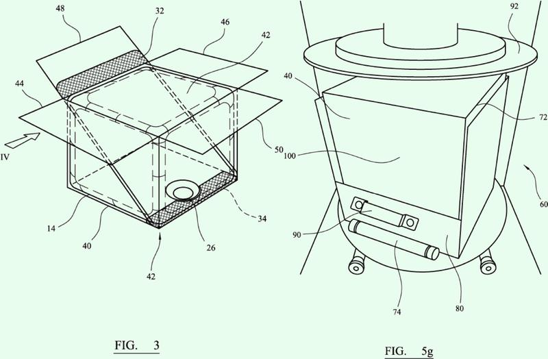 Receptáculo, método de producción de una formulación líquida mezclada y dispositivo mezclador.