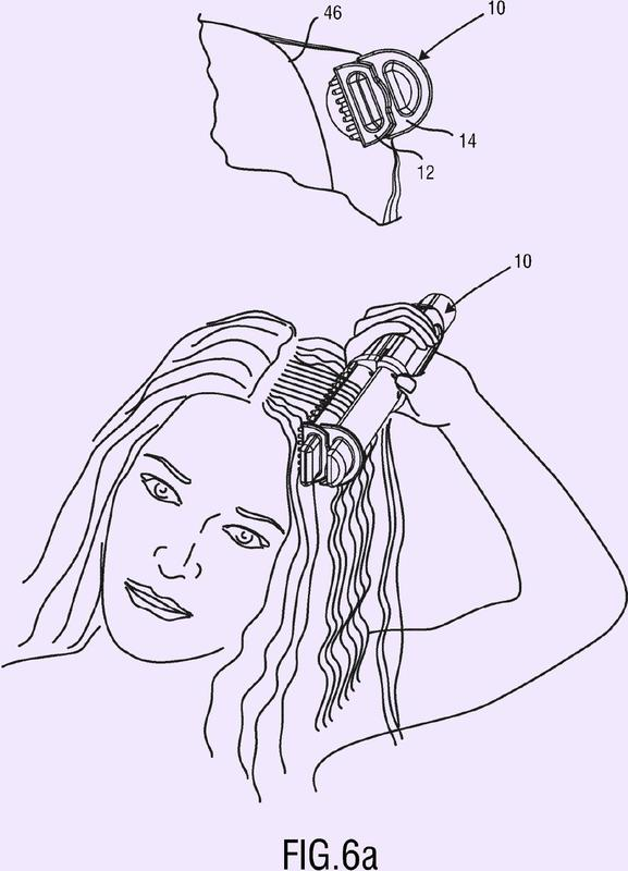Dispositivo para el cuidado del cabello.