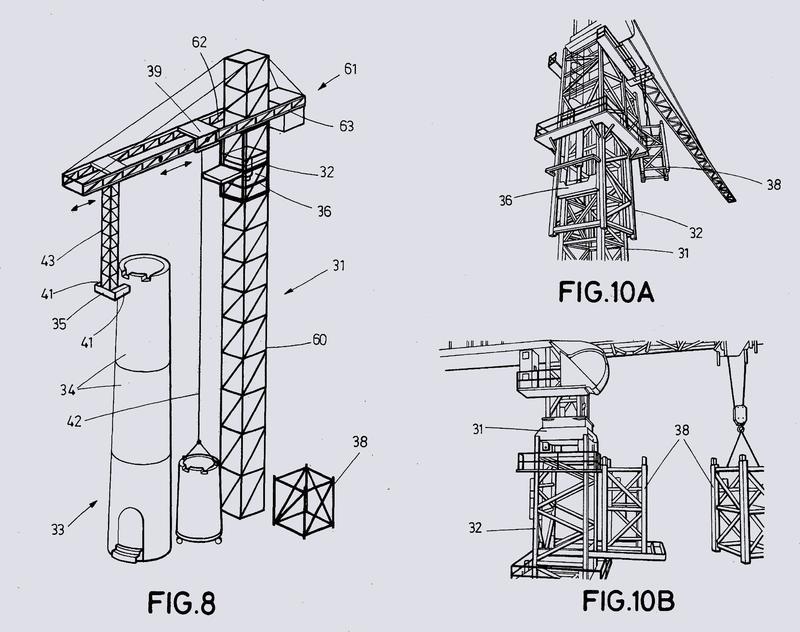 Sistema de montaje de aerogenerador.