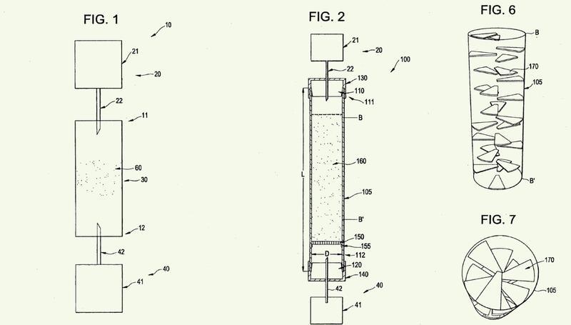 Geometría de columna para maximizar las eficiencias de elución del molibdeno-99.