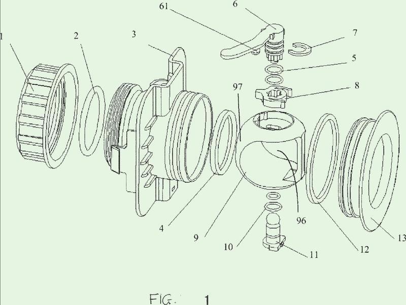 Válvula y ensamble de cartucho de válvula correspondiente.