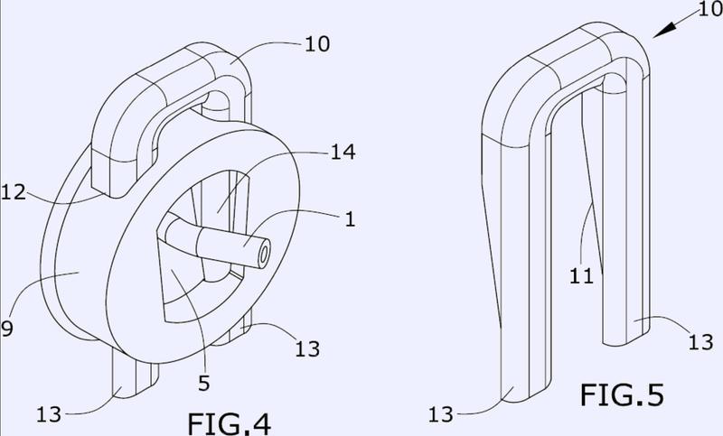Dispositivo conector de inyección.