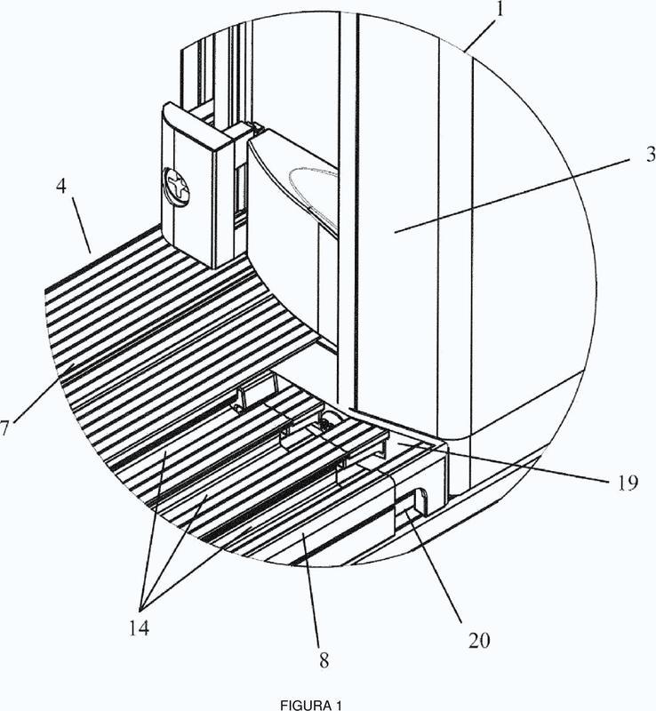Sistema de umbral para una puerta de vivienda, de comercio o similares.