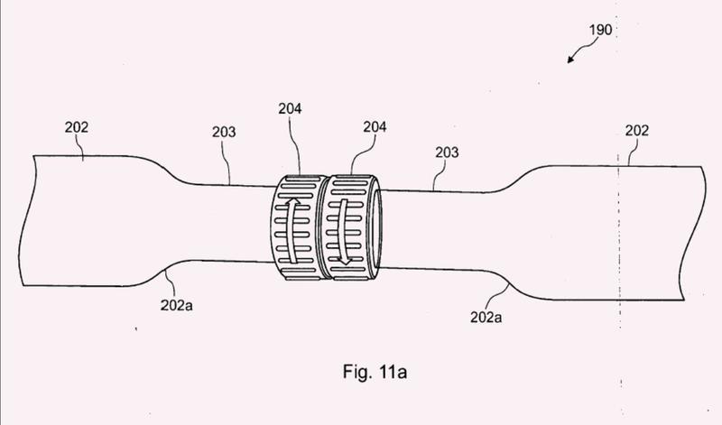 Procedimiento y dispositivo para fabricar un tubo, parte del cual tiene un perfil no circular y secciones extremas circulares.