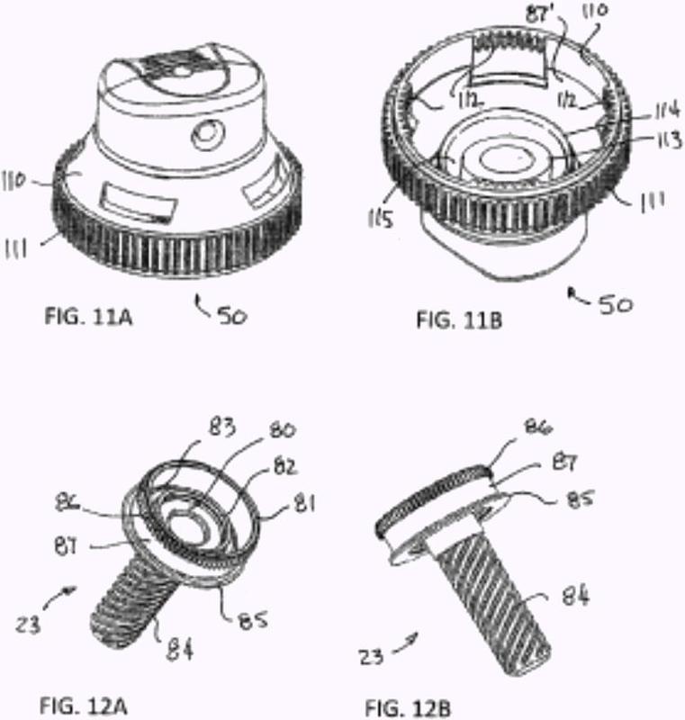 Dosificador de pulverización de duración de descarga accionada por un giro.