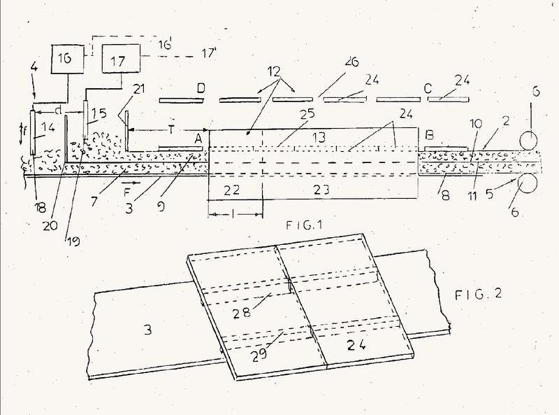 Proceso y planta para la fabricación continua de artículos de descanso de espuma de látex.