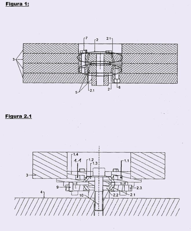 Amortiguador de vibraciones independiente de la temperatura.