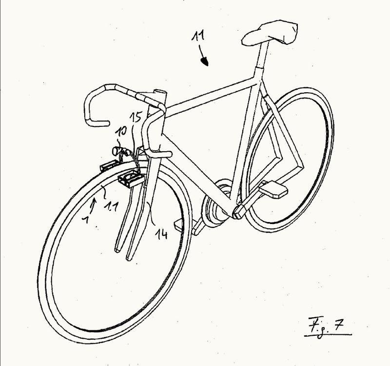 Dispositivo generador de corriente sin contacto, especialmente dinamo de bicicleta, sistema de iluminación de vehículos y bicicleta.