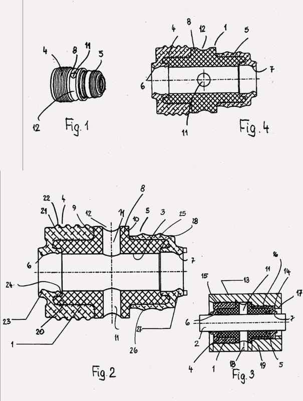 Dispositivo de obturación para varillas.