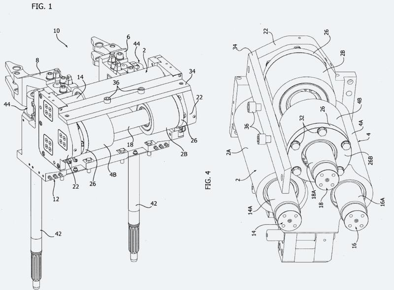Sistema de soporte de molde para una máquina para formar cristalería hueca.
