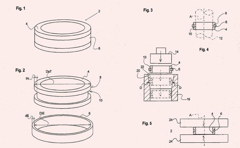 Procedimiento para la fabricación de un anillo de joyería.