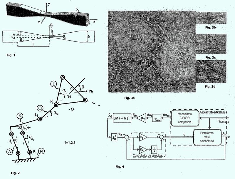 Plataforma móvil holonómica elástica en serie para la rehabilitación de las extremidades superiores.