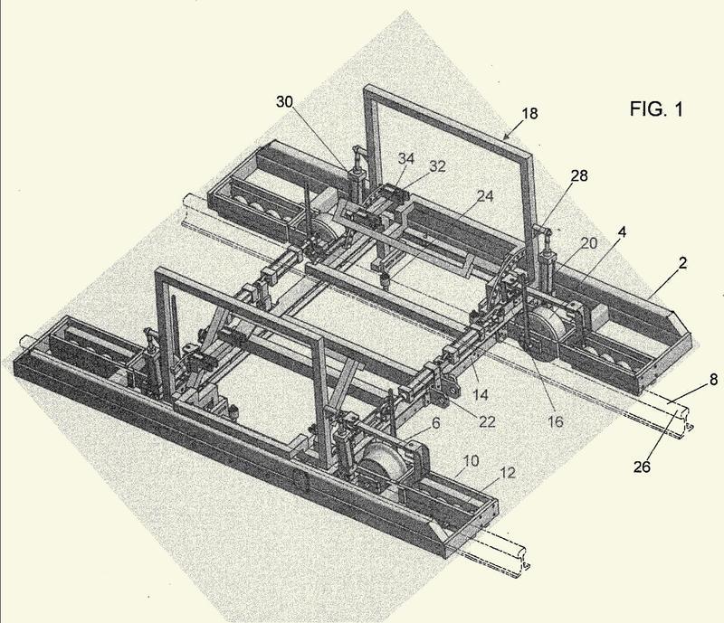 Máquina rectificadora tangencial.