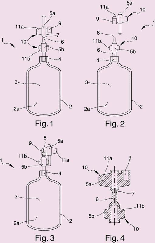 Dispositivo para contener los concentrados de plaquetas.