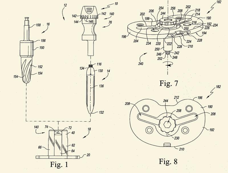 Instrumentos de prueba tibiales.