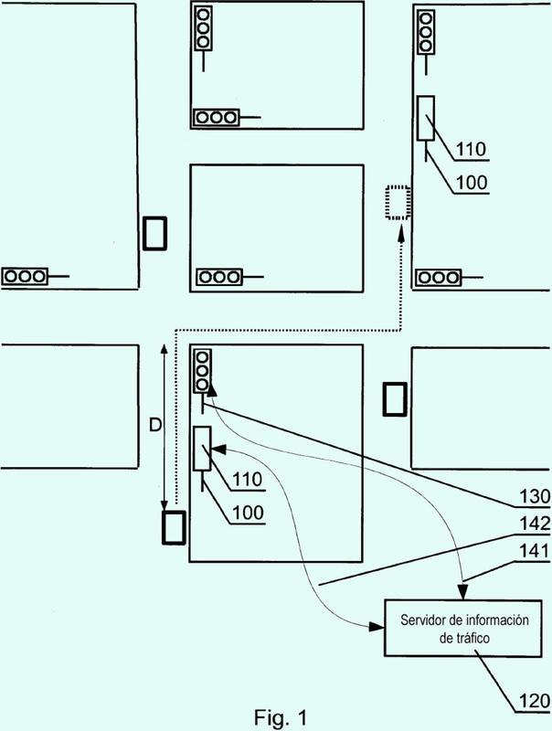 Sistema y procedimiento para proporcionar información en una señal de carretera.