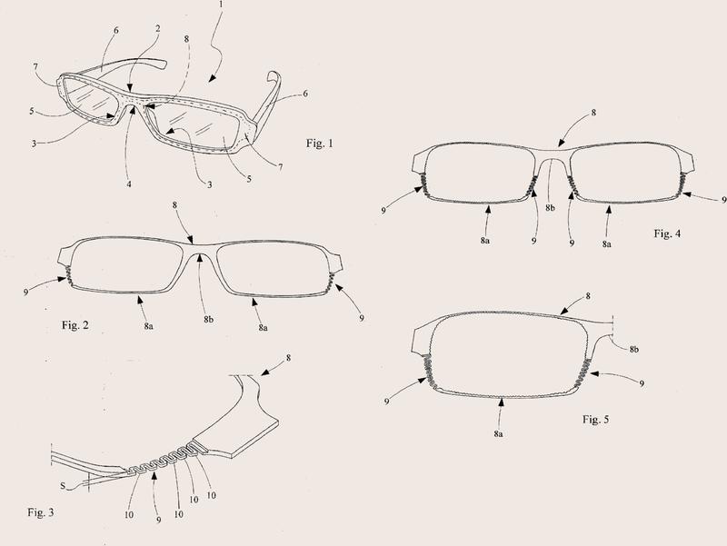 Montura para gafas. (72) (4 de Enero de 2016) : Patentados.com