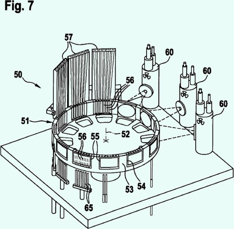 Dispositivo para el control de productos farmacéuticos, particularmente de cápsulas de gelatina dura.