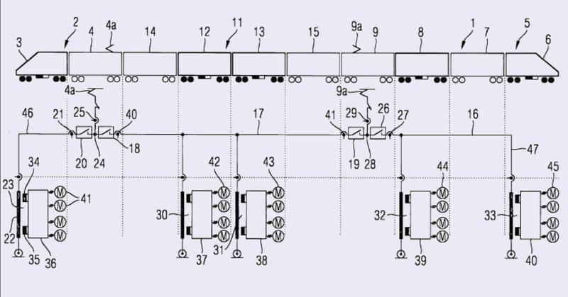 Vehículo ferroviario eléctrico y método para operarlo.