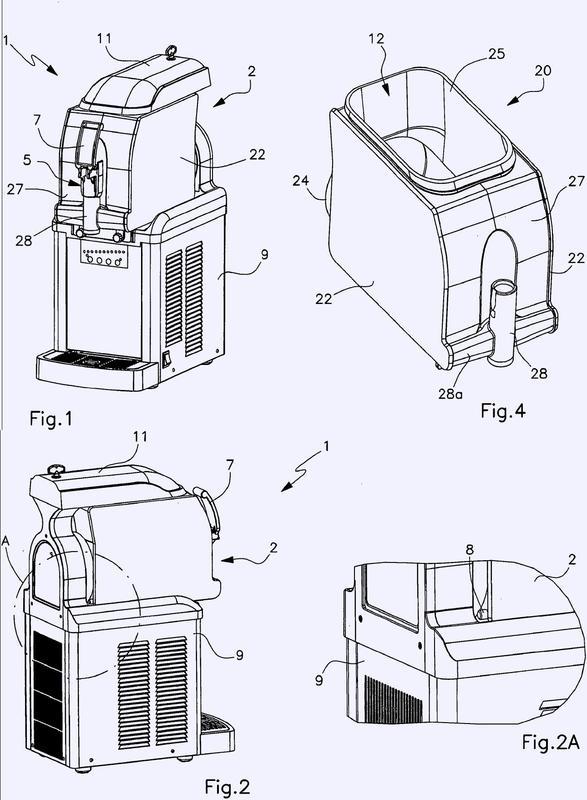 Aparato de preparación de productos refrigerados.