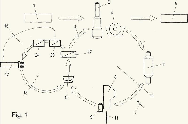 Procedimiento para la caustificación de licor verde.