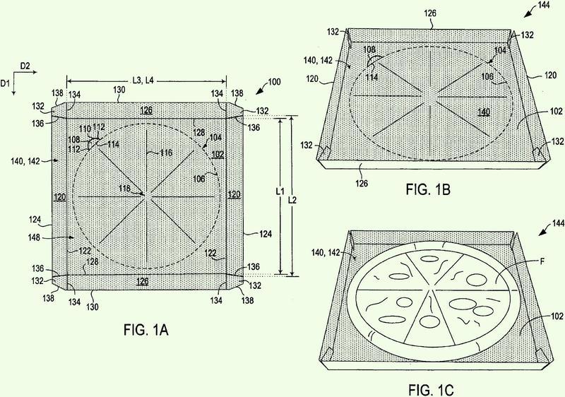 Producto fabricado para calentamiento por microondas.