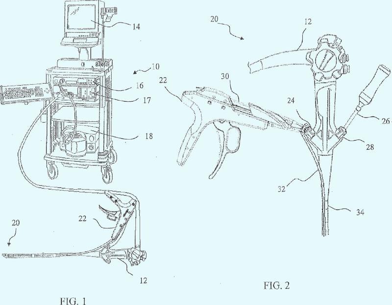 Sistema de sutura endoscópico.