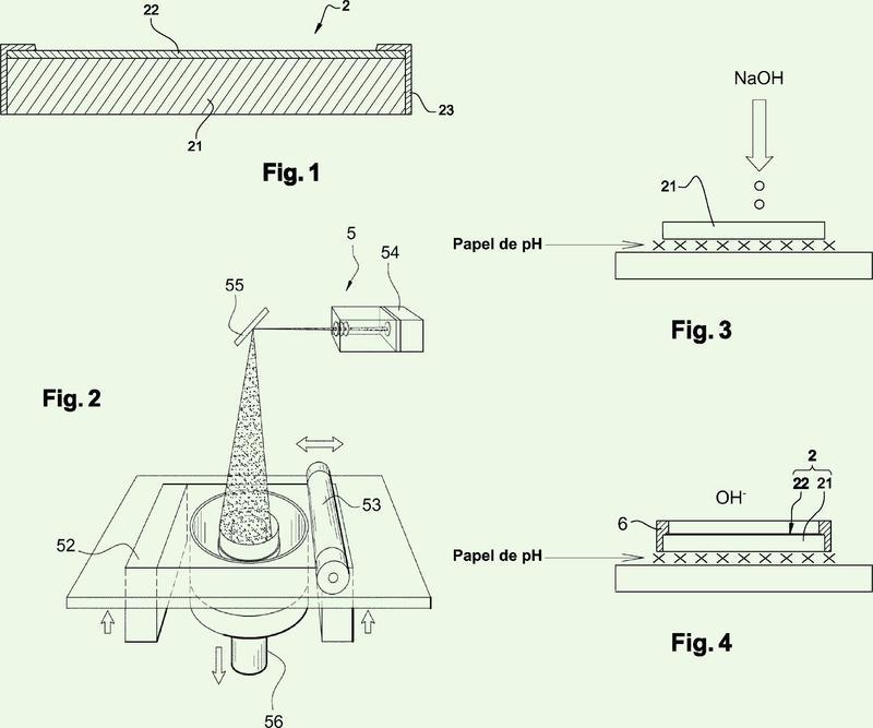 Pared de separación de electrolitos para la transferencia selectiva de cationes a través de la pared y procedimiento de fabricación de dicha pared.