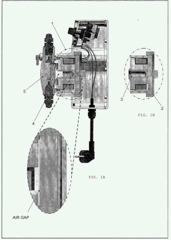 Bomba dosificadora con dispositivo de control del recorrido del pistón.