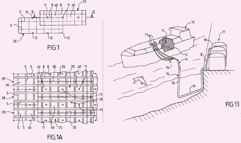 Tanque estanco y térmicamente aislante integrado en una estructura de soporte.