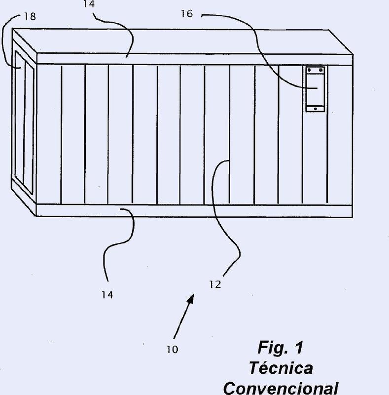 Cubierta de ventilación para un contenedor de embarque.