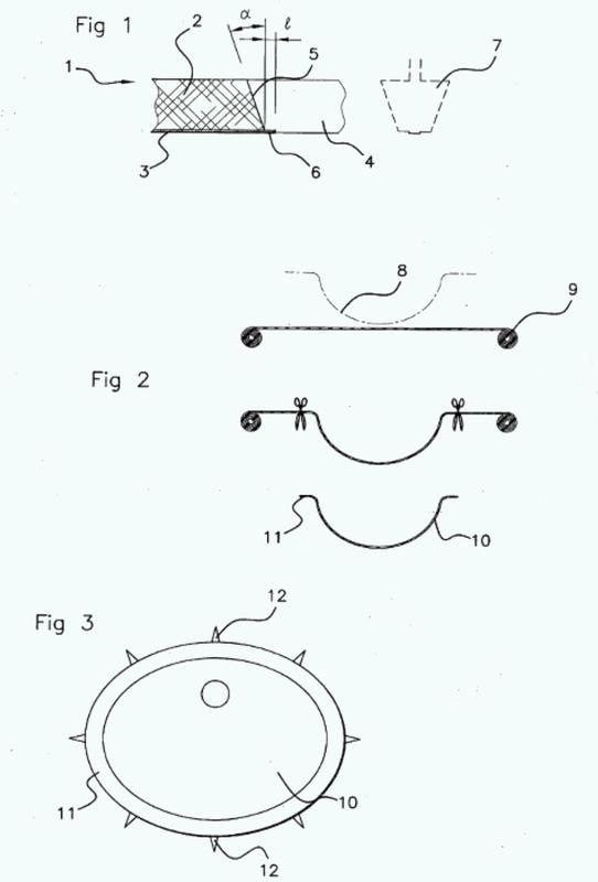 Método para producir un conjunto superior de tocador y conjunto superior de tocador obtenido por este método.