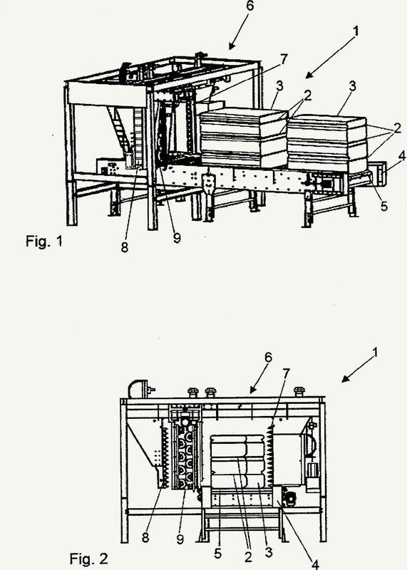 Dispositivo para la retirada de materiales adhesivos de productos empaquetados.