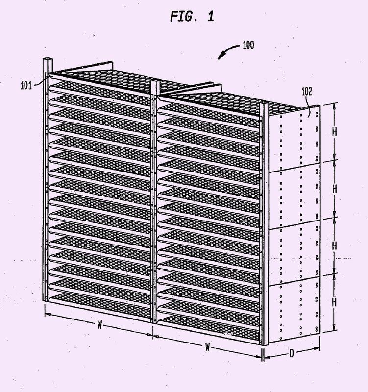 Purificador de aire mejorado de medio polarizado por campo activo.