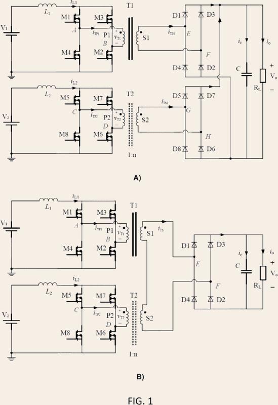 Conjunto transformador magnético integrado.