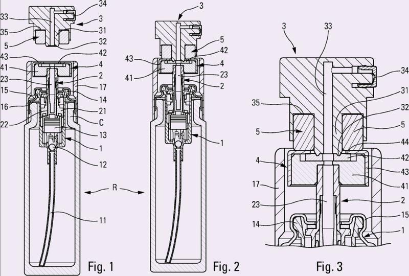 Dispositivo de dispensado de producto fluido.