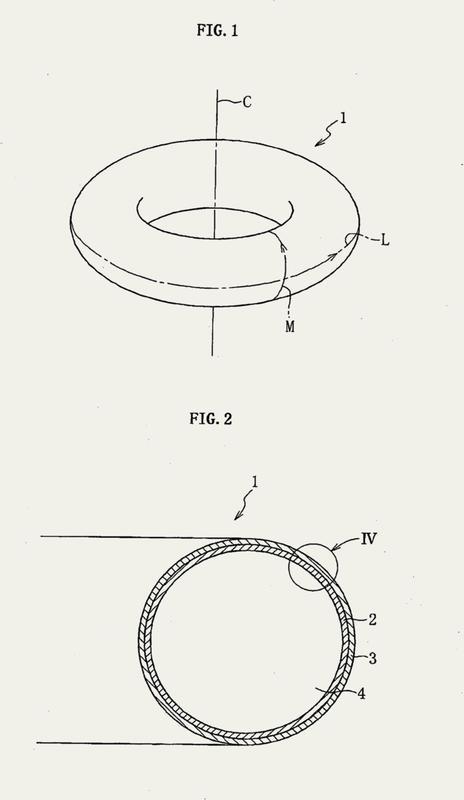 Recipiente a presión toroidal y método de fabricación del mismo.