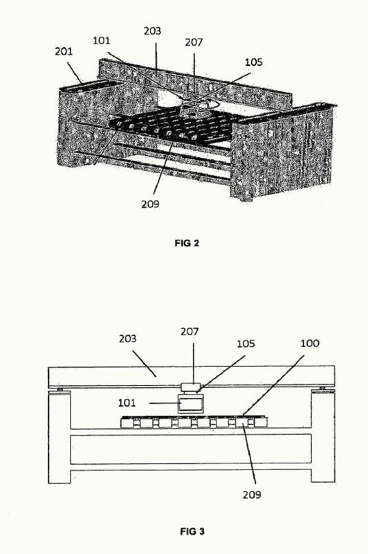 Método bidimensional para impresión de chorro de tinta con alineación del cabezal de impresión.