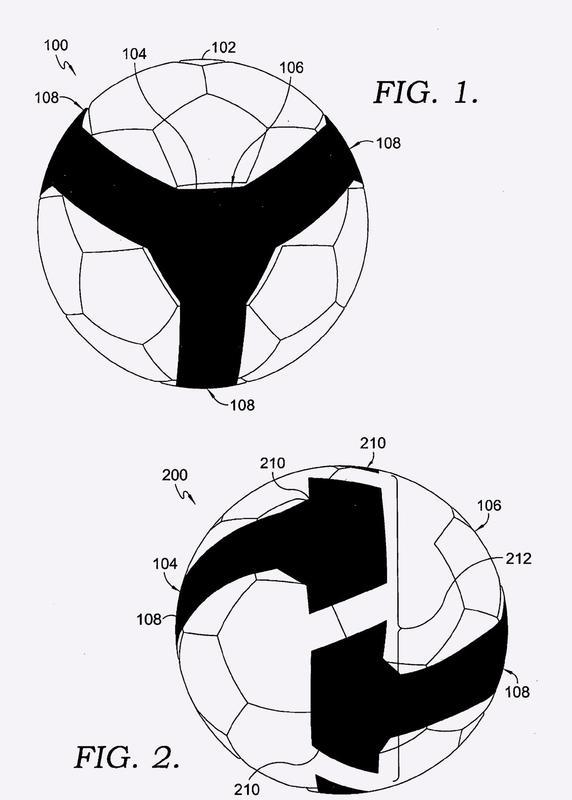 Balón deportivo con agudeza visual mejorada.