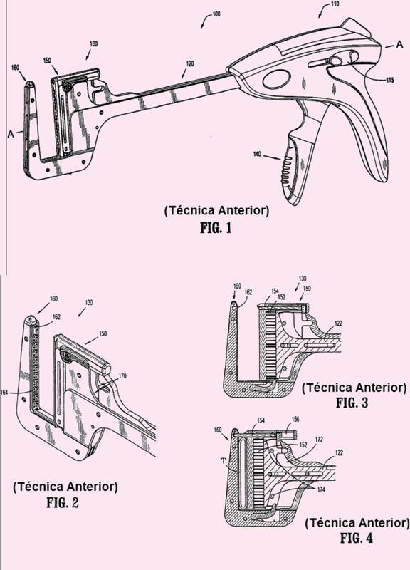 Mecanismo de bloqueo de clavija para un instrumento quirúrgico.