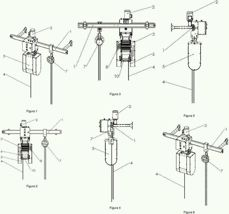 Equipo para mover personas en altura en superficies no horizontales con traslación vertical y horizontal.
